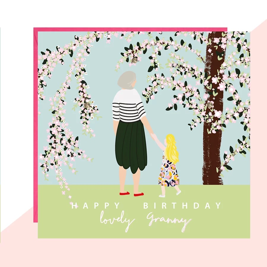 lovely granny card by lottie simpson