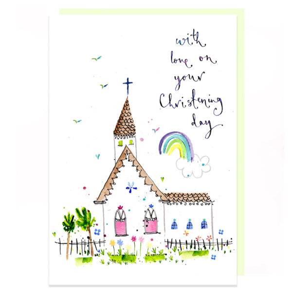 Christening Day by louise mulgrew