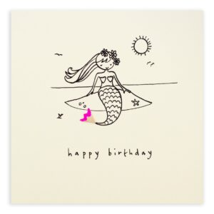 birthday mermaid by ruth jackson
