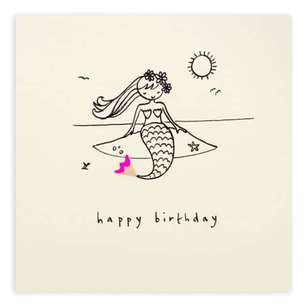 birthday mermaid by ruth jackson