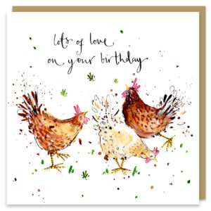 birthday chickens by louise mulgrew