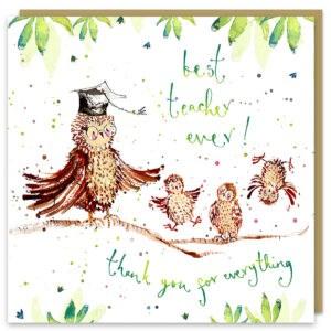 best teacher owls by louise mulgrew