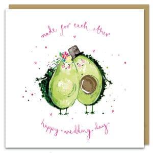 Avocado wedding by louise mulgrew