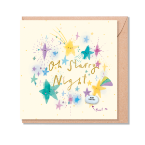 oh starry night card by lucy and lolly