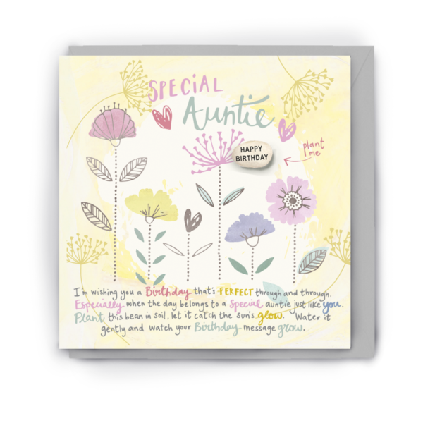 special auntie card by lucy and lolly