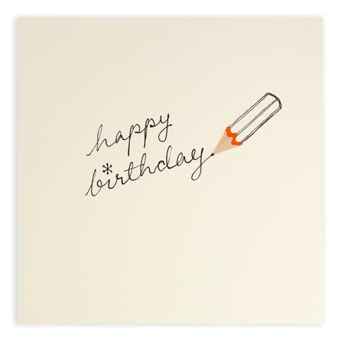 birthday pencil by ruth jackson