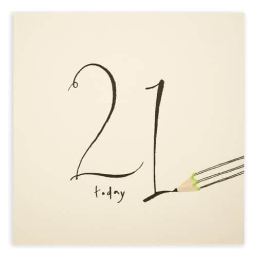 21st birthday by ruth jackson