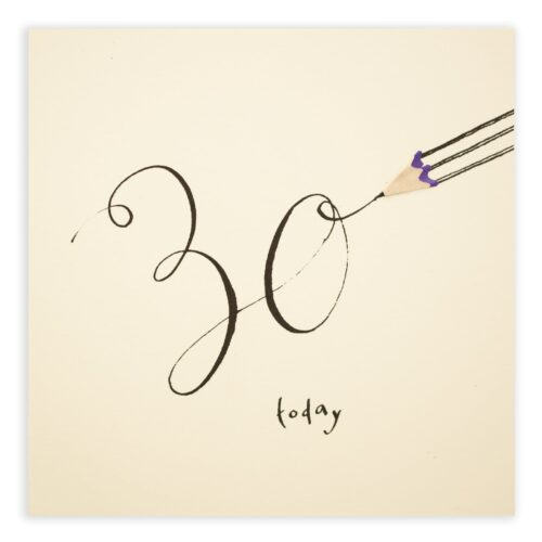 30 today by ruth jackson
