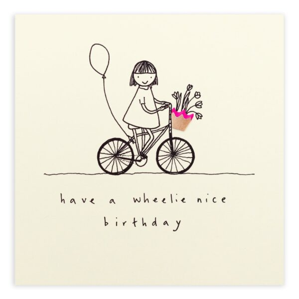 birthday wheelie by ruth jackson