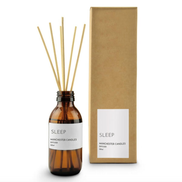 Sleep Lavender Reed Diffuser by Manchester Candles