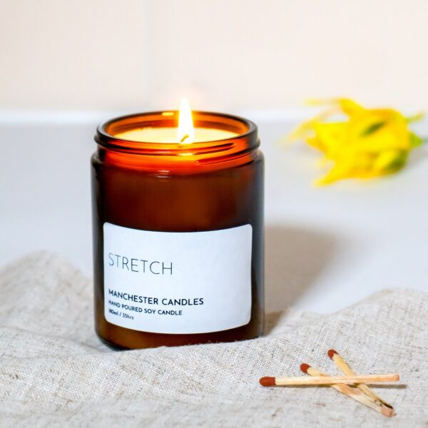 Stretch Aromatherapy Candle by Manchester Candles