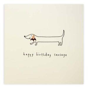 birthday sausage by ruth jackson