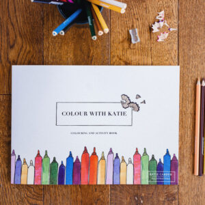 Children's Activity And Colouring Book by katie cardew