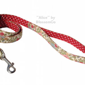 alcie dog lead by blossomco