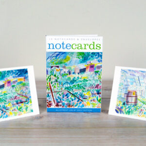 allotment life notecards by emily sutton