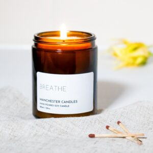breathe candle by Manchester candles