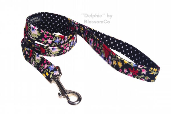Delphi dog lead by BlossomCo