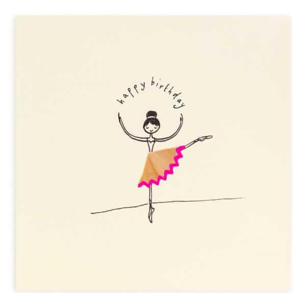 birthday ballerina by ruth jackson