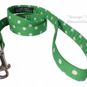 george dog lead by blossomco