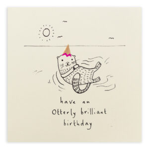 birthday otter by ruth jackson
