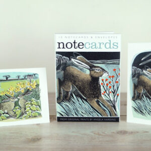 shooting stars and lookout notecards by angela harding