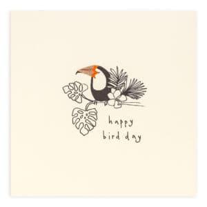 Birthday Toucan by ruth jackson