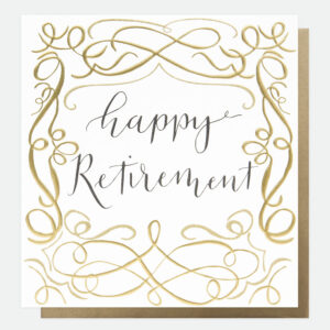 retirement card by caroline gardner