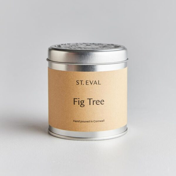 fig tree scented candle tin by st eval