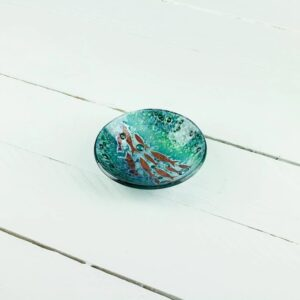 gwithian small deep dish by jo downs glass