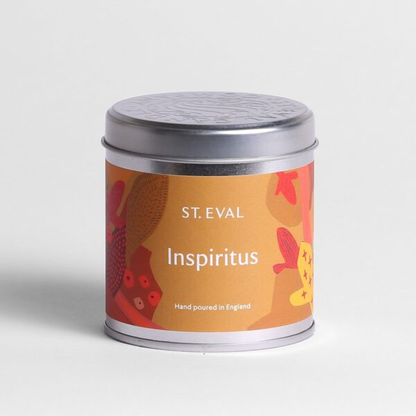 Inspiritus Scented Candle Tin by ST Eval