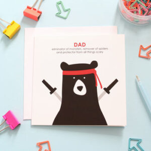 dad protector card by heather alstead design