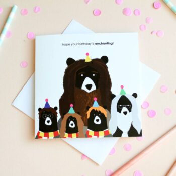 enchanting birthday card by heather alstead design