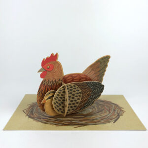Pop-Out Chicken Card by Alice Melvin
