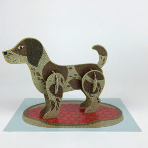 Pop-Out dog by Alice Melvin