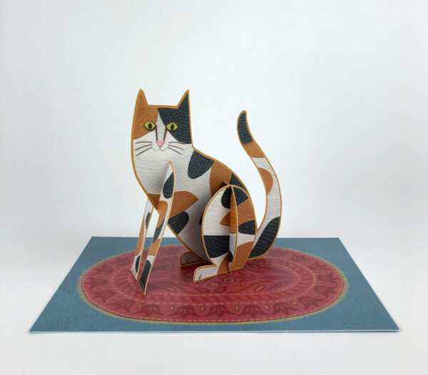 Pop-Out Cat by Alice Melvin