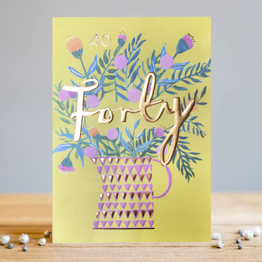 forty card by louise tiler