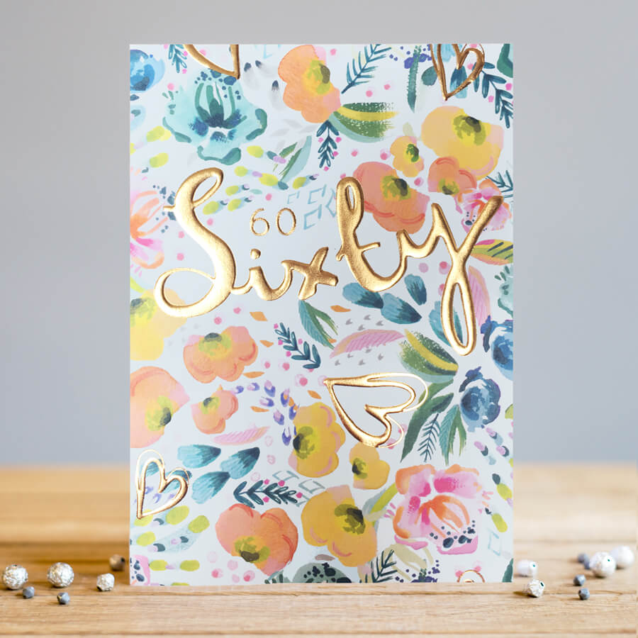 sixty card by louise tiler