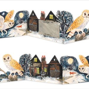 Silent Flight collage by Mark Hearld