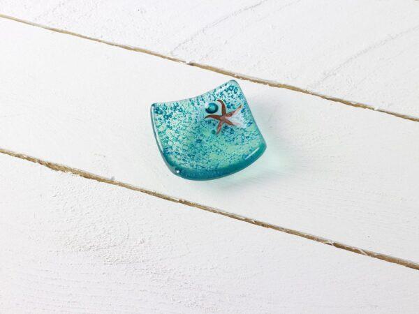samphire starfish earring dish by jo downs glass