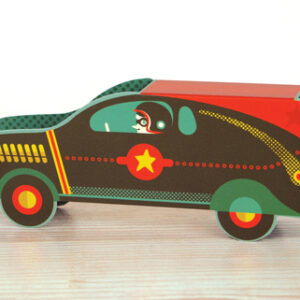 Die cut Racer by Tom Frost