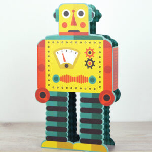 Die cut Robot by Tom Frost