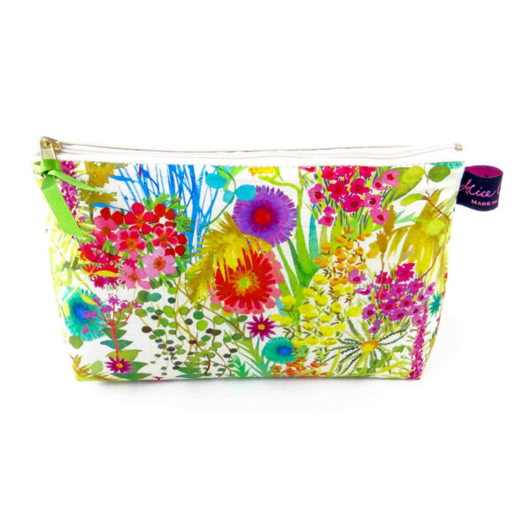 Tresco Flowers cosmetic bag by alice caroline