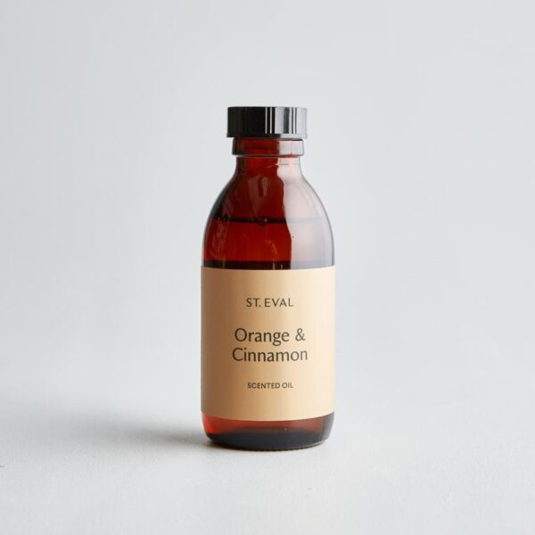 orange & cinnamon diffuser refill by st eval