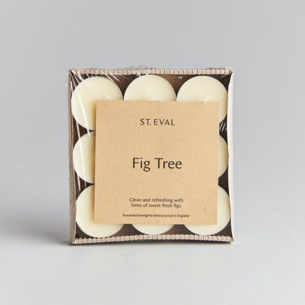 fig tree scented tealights by st eval
