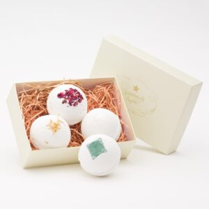 bath bomb gift set by quintessentially english