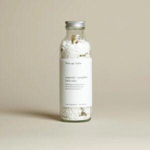 Seaweed & Samphire Bath salts by Plum & Ashby