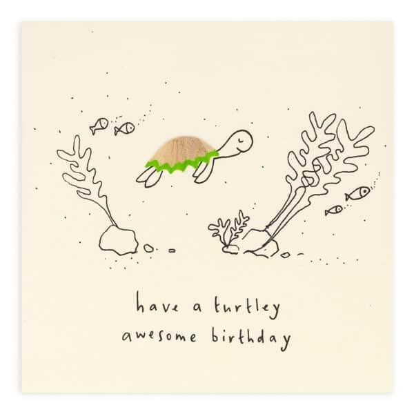 Birthday turtle card by ruth jackson