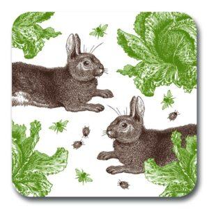Rabbit & Cabbage potstand by Thornback & Peel