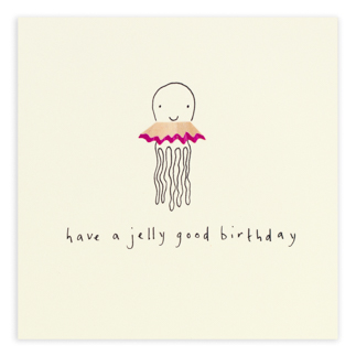 Birthday jellyfish by ruth jackson