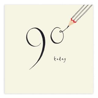 90th birthday card by ruth jackson